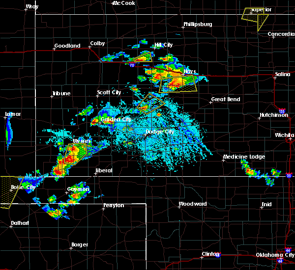 Radar Image for Severe Thunderstorms near Victoria, KS at 7/5/2019 6:39 PM CDT