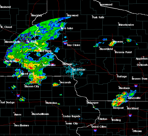 Radar Image for Severe Thunderstorms near New Haven, IA at 7/5/2019 8:03 PM CDT