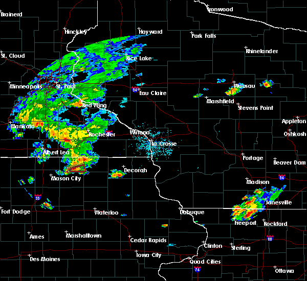 Radar Image for Severe Thunderstorms near New Haven, IA at 7/5/2019 8:12 PM CDT