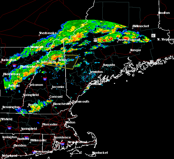 Radar Image for Severe Thunderstorms near Berlin, NH at 7/6/2019 2:18 PM EDT