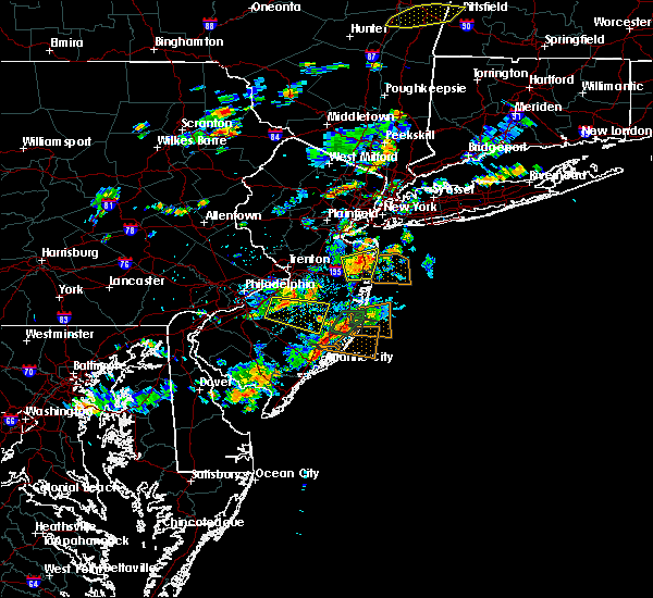 Radar Image for Severe Thunderstorms near Leisuretowne, NJ at 7/6/2019 2:28 PM EDT