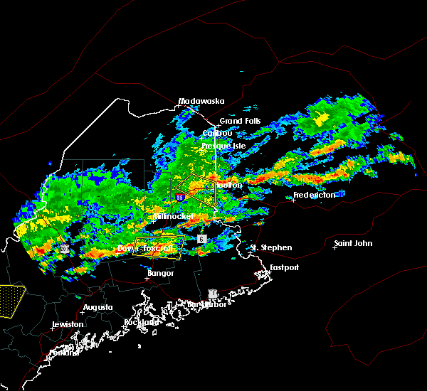 Radar Image for Severe Thunderstorms near Milo, ME at 7/6/2019 2:40 PM EDT