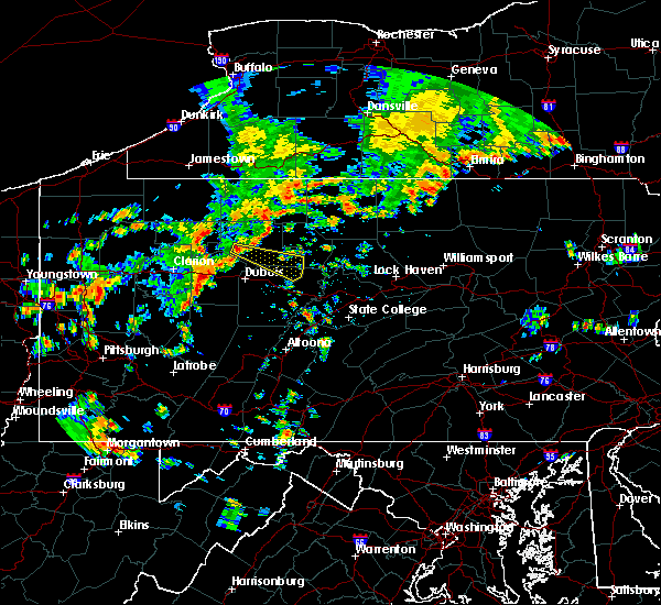Radar Image for Severe Thunderstorms near Kersey, PA at 7/6/2019 2:41 PM EDT