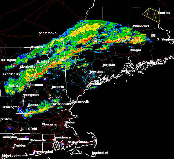 Radar Image for Severe Thunderstorms near Berlin, NH at 7/6/2019 2:42 PM EDT