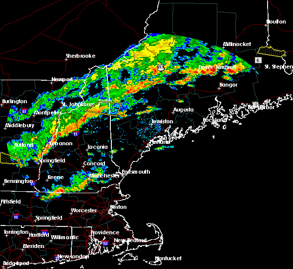 Radar Image for Severe Thunderstorms near Berlin, NH at 7/6/2019 3:02 PM EDT