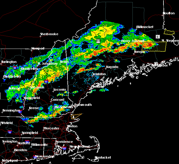Radar Image for Severe Thunderstorms near Auburn, ME at 7/6/2019 3:22 PM EDT