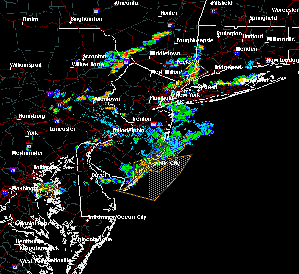 Radar Image for Severe Thunderstorms near Sea Isle City, NJ at 7/6/2019 3:27 PM EDT