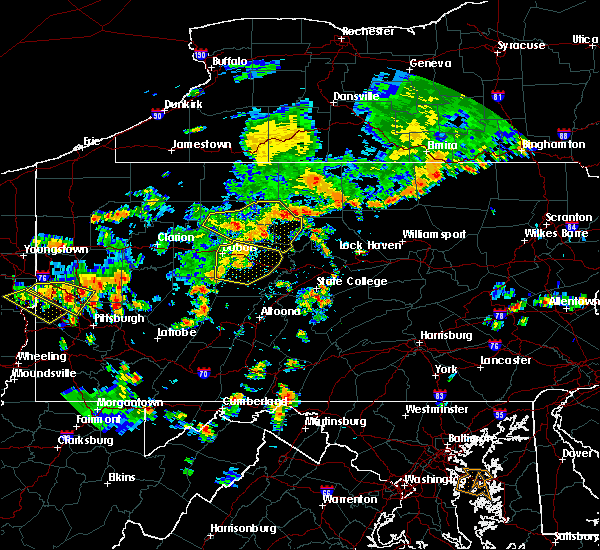 Radar Image for Severe Thunderstorms near Sandy, PA at 7/6/2019 3:29 PM EDT
