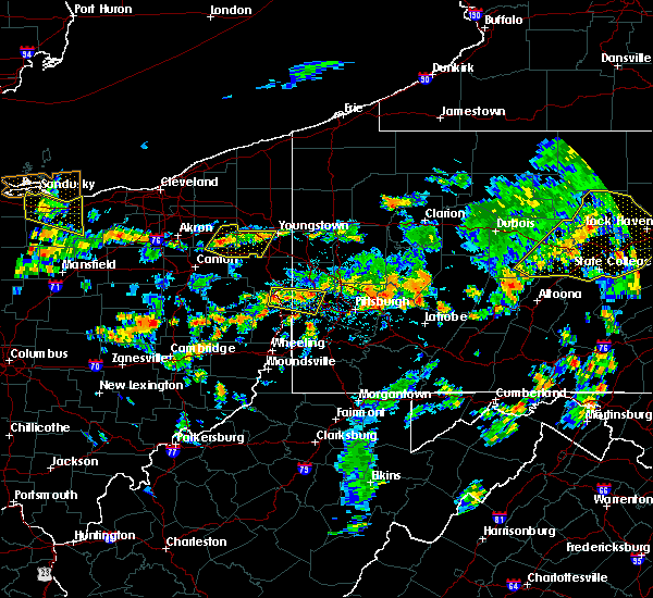 Radar Image for Severe Thunderstorms near Frankfort Springs, PA at 7/6/2019 4:05 PM EDT