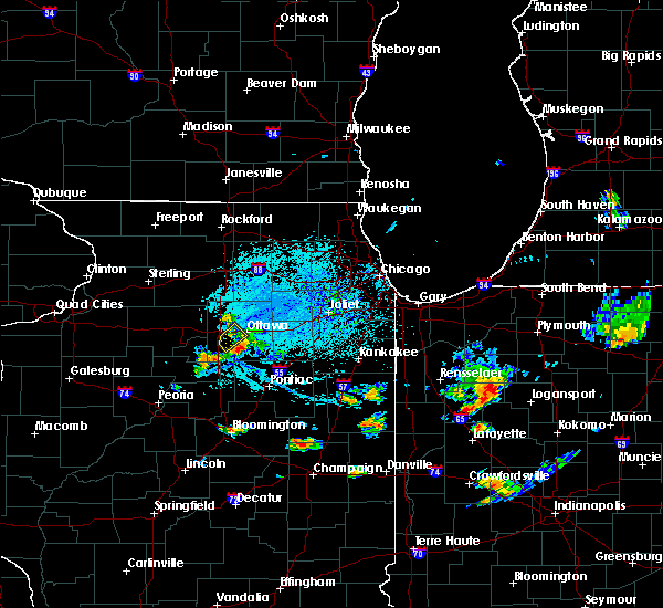 Radar Image for Severe Thunderstorms near Ottawa, IL at 7/6/2019 3:58 PM CDT