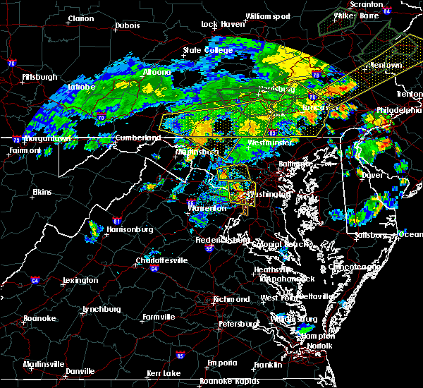 Radar Image for Severe Thunderstorms near Wheaton, MD at 7/6/2019 7:24 PM EDT