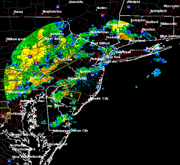 Radar Image for Severe Thunderstorms near Buena, NJ at 7/6/2019 7:36 PM EDT