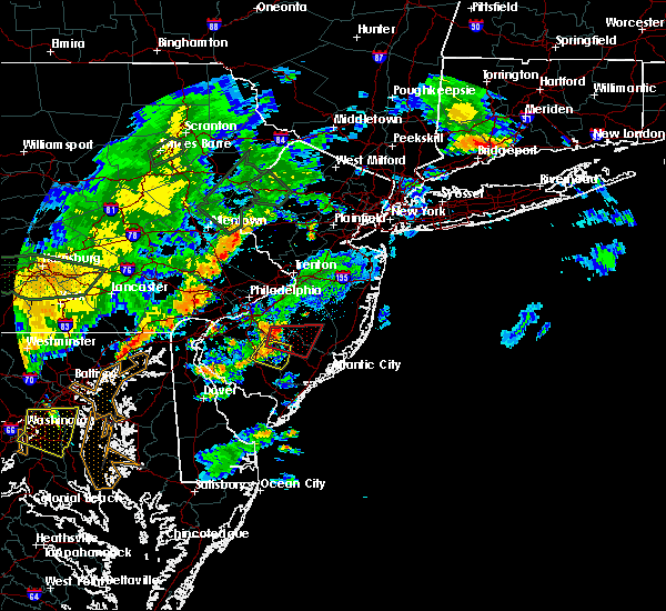 Radar Image for Severe Thunderstorms near Buena, NJ at 7/6/2019 8:07 PM EDT