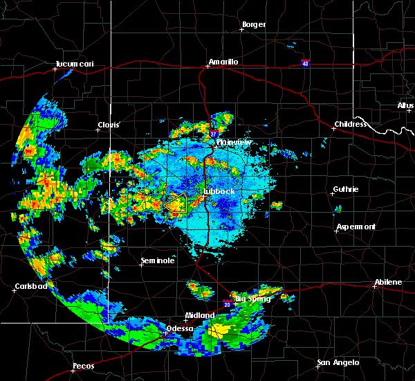 Radar Image for Severe Thunderstorms near Ropesville, TX at 7/6/2019 9:53 PM CDT
