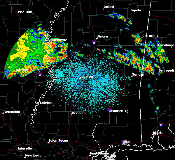 Radar Image for Severe Thunderstorms near Noxapater, MS at 7/7/2019 1:10 PM CDT