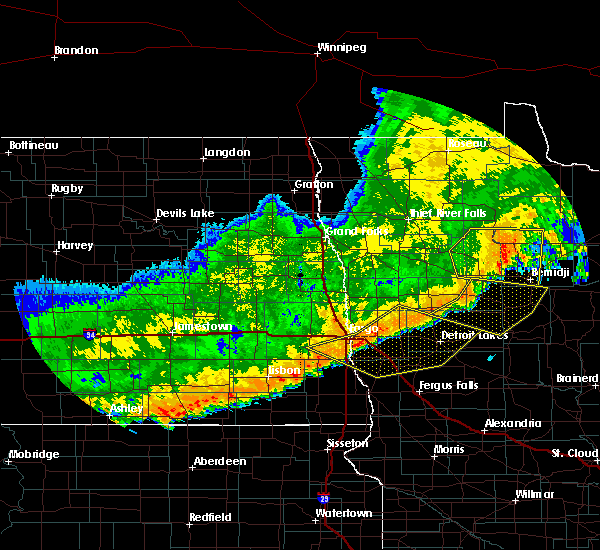 Radar Image for Severe Thunderstorms near Twin Lakes, MN at 7/8/2019 10:02 PM CDT