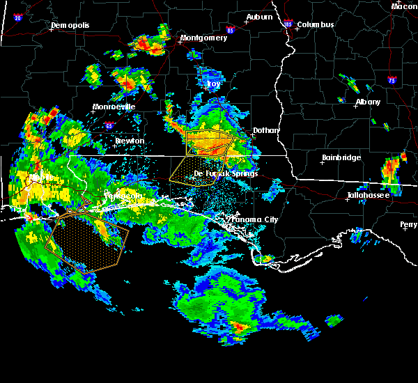 Radar Image for Severe Thunderstorms near Ponce de Leon, FL at 7/9/2019 5:32 PM CDT