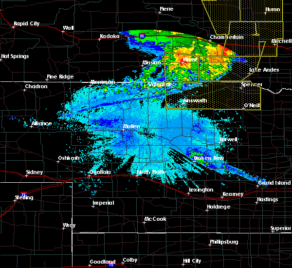 Radar Image for Severe Thunderstorms near Atkinson, NE at 6/20/2015 2:13 AM CDT