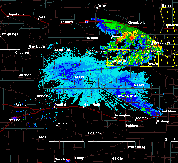 Radar Image for Severe Thunderstorms near Atkinson, NE at 6/20/2015 2:43 AM CDT