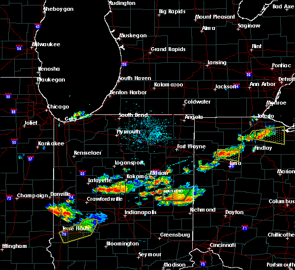 Radar Image for Severe Thunderstorms near Dupont, OH at 7/10/2019 7:29 PM EDT