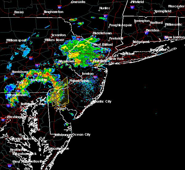 Radar Image for Severe Thunderstorms near Oak Valley, NJ at 7/11/2019 2:17 PM EDT