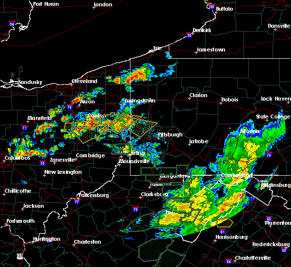 Radar Image for Severe Thunderstorms near Tuscarawas, OH at 7/11/2019 3:32 PM EDT