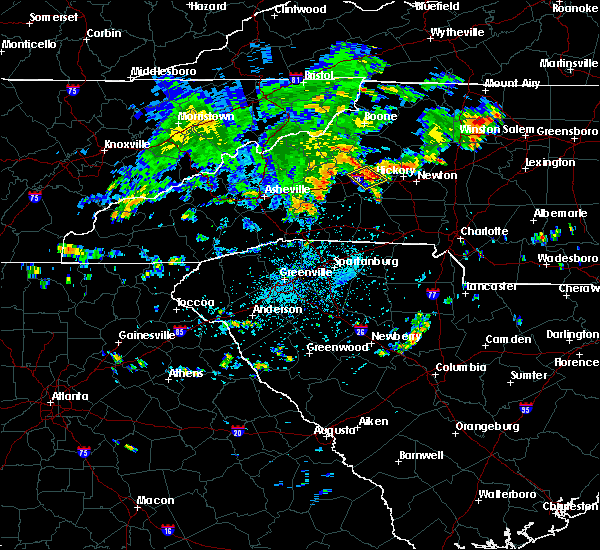 Radar Image for Severe Thunderstorms near Icard, NC at 7/11/2019 3:37 PM EDT