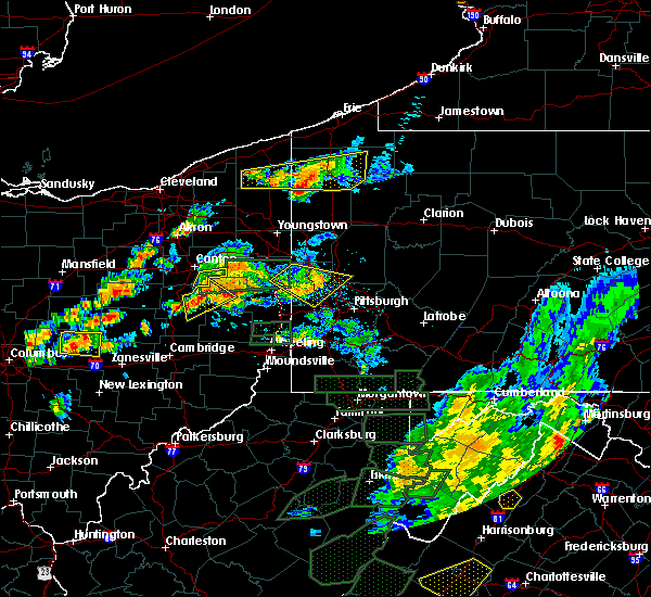 Radar Image for Severe Thunderstorms near Calcutta, OH at 7/11/2019 3:54 PM EDT