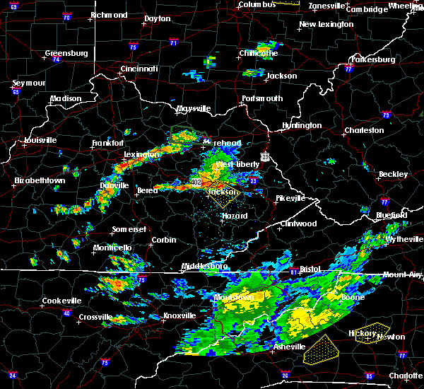 Radar Image for Severe Thunderstorms near Richmond, KY at 7/11/2019 4:13 PM EDT