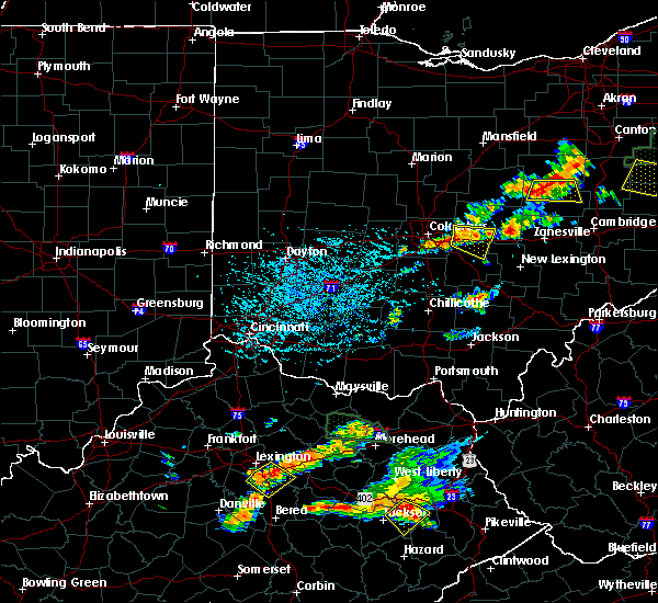 Radar Image for Severe Thunderstorms near Pickerington, OH at 7/11/2019 4:25 PM EDT