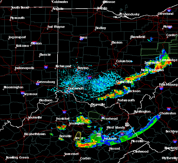 Radar Image for Severe Thunderstorms near Otway, OH at 7/11/2019 6:27 PM EDT