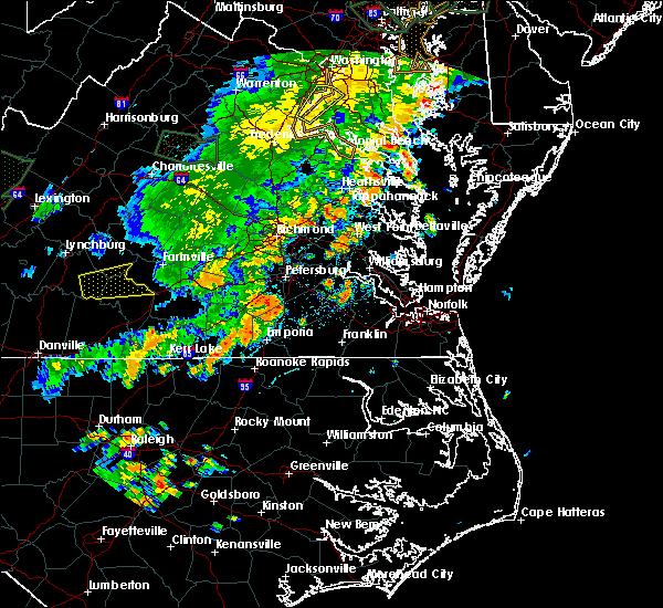 Interactive Hail Maps - Hail Map for Montross, VA