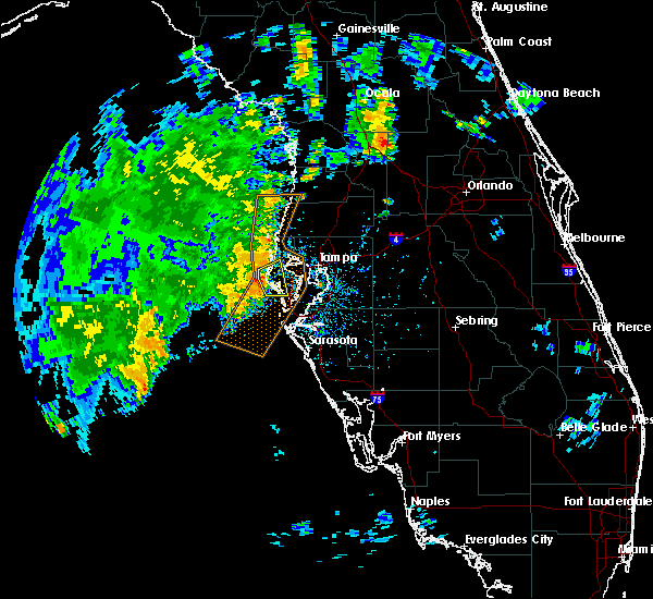 Radar Image for Severe Thunderstorms near West Lealman, FL at 7/12/2019 5:13 PM EDT