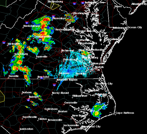Radar Image for Severe Thunderstorms near Cumberland, VA at 6/20/2015 6:38 PM EDT