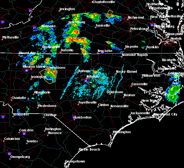 Radar Image for Severe Thunderstorms near Staley, NC at 6/20/2015 6:41 PM EDT