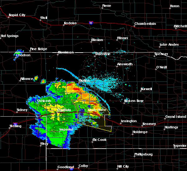 Radar Image for Severe Thunderstorms near Stapleton, NE at 7/12/2019 11:18 PM CDT