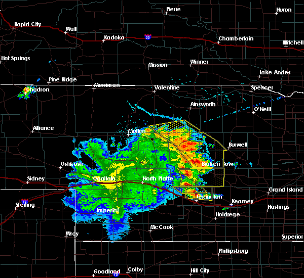 Radar Image for Severe Thunderstorms near Mason City, NE at 7/13/2019 12:17 AM CDT