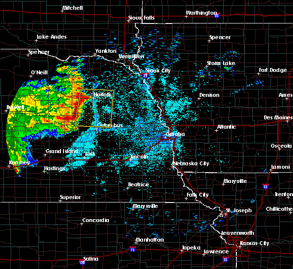 Radar Image for Severe Thunderstorms near Winside, NE at 7/13/2019 2:45 AM CDT