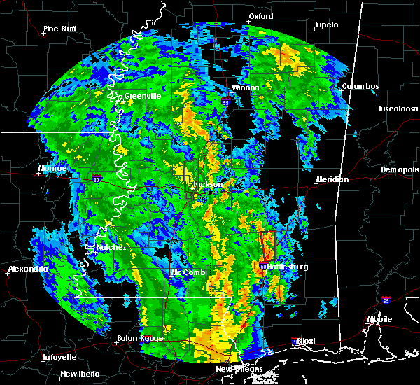 Radar Image for Severe Thunderstorms near Soso, MS at 7/14/2019 5:25 AM CDT