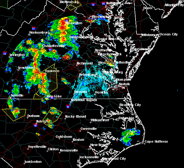 Radar Image for Severe Thunderstorms near Yogaville, VA at 6/20/2015 7:08 PM EDT