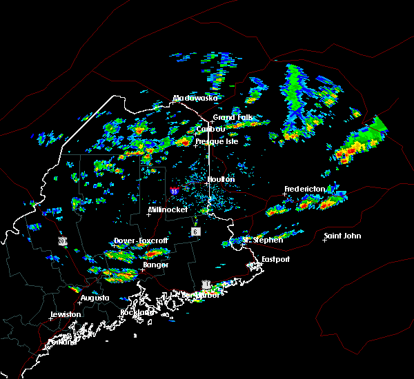 Radar Image for Severe Thunderstorms near Milford, ME at 7/14/2019 1:49 PM EDT