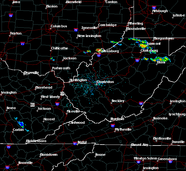Radar Image for Severe Thunderstorms near Parkersburg, WV at 7/14/2019 2:29 PM EDT