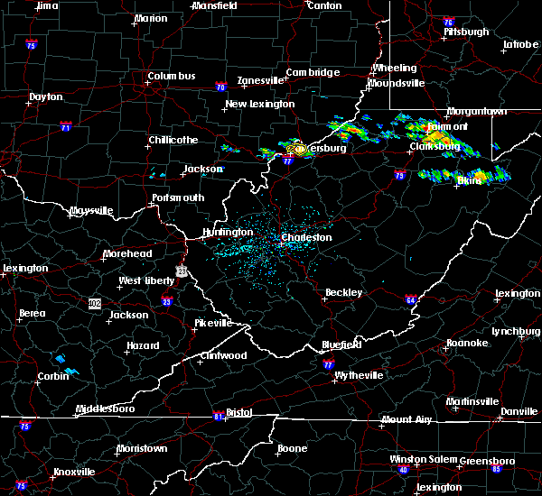 Radar Image for Severe Thunderstorms near Parkersburg, WV at 7/14/2019 2:52 PM EDT