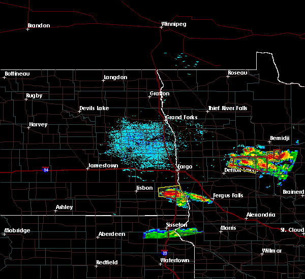Radar Image for Severe Thunderstorms near Laporte, MN at 7/14/2019 3:52 PM CDT