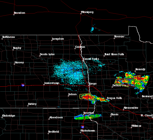 Radar Image for Severe Thunderstorms near Osage, MN at 7/14/2019 4:00 PM CDT