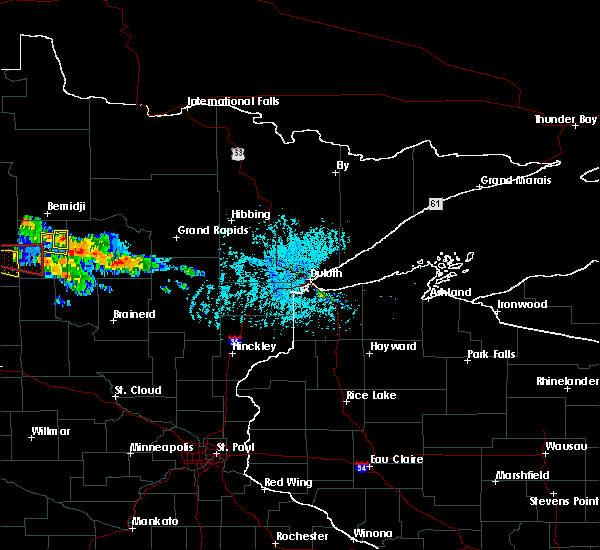 Radar Image for Severe Thunderstorms near Laporte, MN at 7/14/2019 4:13 PM CDT