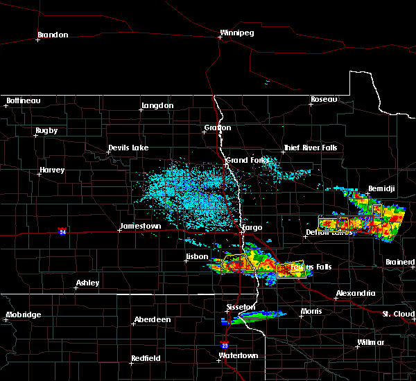 Radar Image for Severe Thunderstorms near Kent, MN at 7/14/2019 4:31 PM CDT