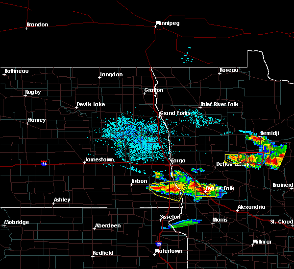 Radar Image for Severe Thunderstorms near Osage, MN at 7/14/2019 4:43 PM CDT