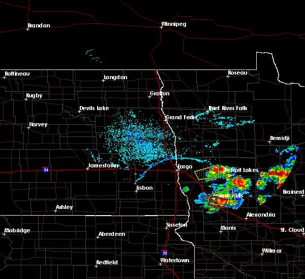 Interactive Hail Maps - Hail Map for Detroit Lakes, MN