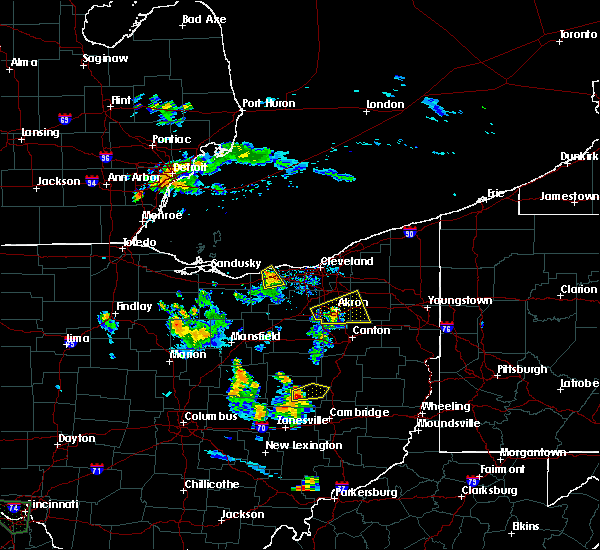 Radar Image for Severe Thunderstorms near Ravenna, OH at 7/15/2019 8:39 PM EDT